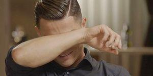 Ronaldo, Babasının Videosunu İzledikten Sonra Gözyaşlarına Hakim Olamadı!