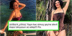Instagram Hesabından Mayolu Fotoğrafını Paylaşan Göksel'e Ahlak Bekçilerinin Yaptığı Akılalmaz Yorumlar