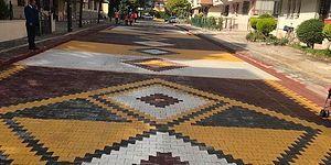 Sokaklarını Dev Bir Kilime Çeviren Pursaklar Belediyesi Tepkilerin Odağında