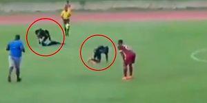 Futbol Maçı Sırasında Yıldırım Düştü: Futbolcular Hastanelik Oldu!