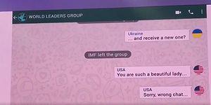 Gülmekten Karnınıza Ağrılar Girecek: Dünya Liderleri WhatsApp Grubu Konuşmaları!