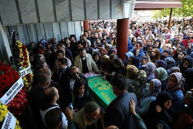 Neslican Tay için Rize Sahil Camii'nde tören düzenlendi.