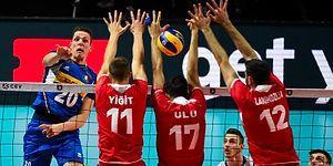 A Milli Erkek Voleybol Takımı Avrupa Şampiyonası'nda İtalya'yı Geçemedi ve Elendi