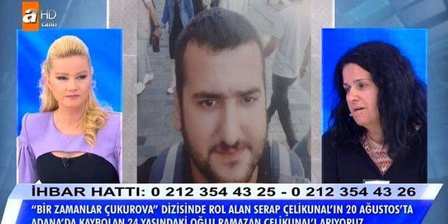 48 yaşında olan Çelikkünal, 14 yaşında kaçırılarak zorla evlendiğini ve şu anda 10 çocuğu olduğunu söyledi.