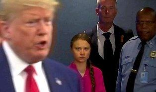 Trump ve Greta Twitter Üzerinden Atıştı: 'Bir Arkadaşıyla Eski Moda Güzel Bir Filme Gitmeli'