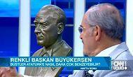 Atatürk'ün Bire Bir Büstünü Yapan Yılmaz Büyükerşen, O Büstün Hikayesini Anlattı!