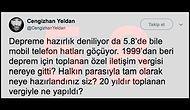 İstanbul'da Yaşanan Şiddetli Deprem Sonrasında Duygularımıza Tercüman Olan Paylaşımlar
