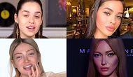 Ünlü YouTuber'ların Makyajsız ve Makyajlı Hallerini Bir Arada Görünce Çok Şaşıracaksınız