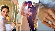 Olaylı Çift Nihayet Nikah Masasına Oturdu! Ebru Şallı ve Uğur Akkuş Çırağan Sarayı'nda Dünyaevine Girdi