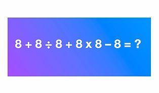 Bu 25 Soruluk Zorlu Matematik Testini Hesap Makinesi Kullanmadan Geçebilir misin?
