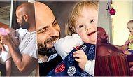 20 Ailenin Reddettiği Down Sendromlu Bebek Alba'ya Tek Başına Babalık Eden Luca'nın Hikayesi Kalbinizi Eritecek!