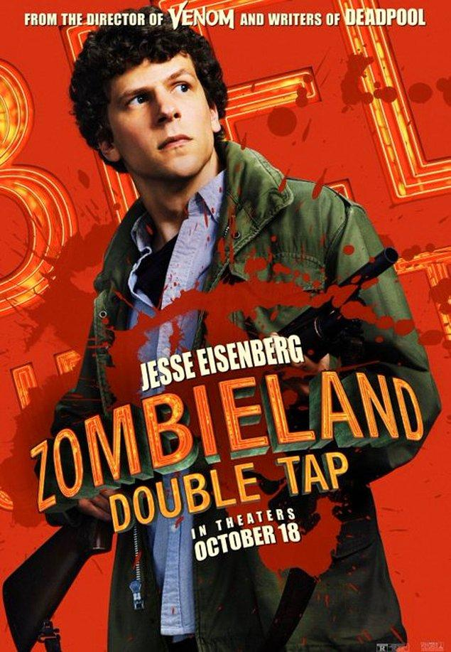 1. Zombieland: Double Tap'ten yeni posterler yayınlandı.