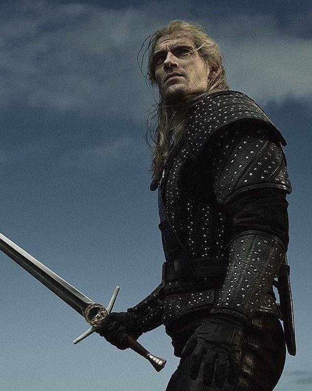 5. Henry Cavill'in başrolünde bulunduğu yeni Netflix dizisi The Witcher'dan yeni bir görsel yayınlandı.