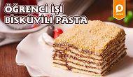 Öğrenci Evlerinde Pasta Yapmak Artık Çok Kolay! Öğrenci İşi Bisküvili Pasta Nasıl Yapılır?