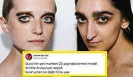 Eli Olan Yazıyor! Gucci'nin Yeni Mankeni Armine Arutyunyan, Dış Görünüşü Nedeniyle Çirkin Yorumlara Maruz Kaldı!