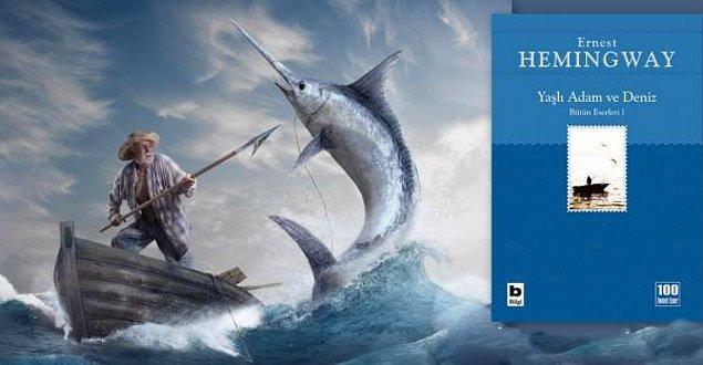 20. Yaşlı Adam ve Deniz-Ernest Hemingway: 1953 Pulitzer Ödülü