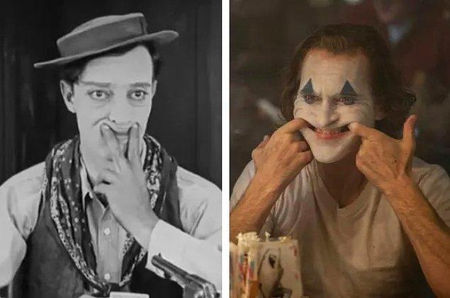 4. Phoenix rol için hazırlanırken, Buster Kaeton ve Ray Bolger gibi meşhur sessiz film yıldızlarının hareketleri üzerine çalıştı.