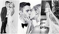 Justin Bieber'la Evlenen Hailey Bieber'ın Büyüleyici Gelinliği ve Duvağındaki Özel Mesaj Beğeni Topladı