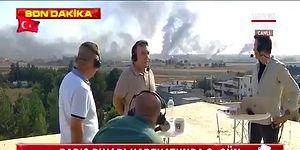 Türk Habercilere Canlı Yayındayken Keskin Nişancı Ateşi Açıldı!