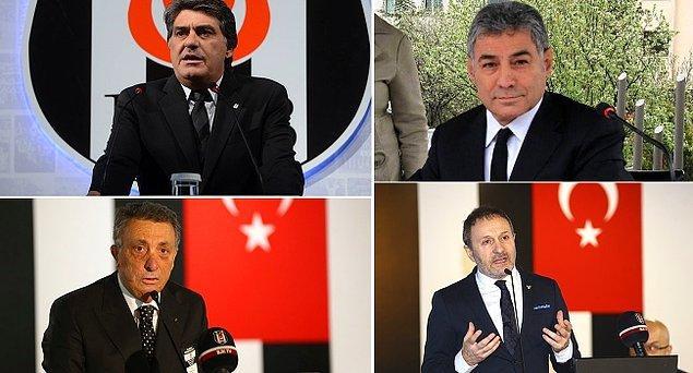 İkinci Başkan Serdal Adalı adaylığını ilk duyuran isim olurken Ahmet Nur Çebi, Hürser Tekinoktay ve İsmail Ünal da adaylıklarını açıkladı.