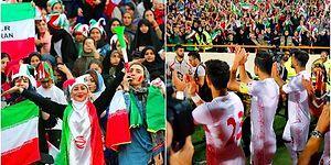 40 Yıl Aradan Sonra Stadyumda Seyirci Olarak Maç İzlemesine İzin Verilen İranlı Kadınlar ve Yaşananlar