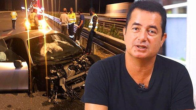 8. Ünlü televizyoncu Acun Ilıcalı, Kuzey Marmara Otoyolu'nda Anadolu yakasında kaza geçirdi.