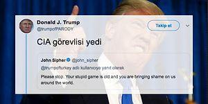 Türk Troller Donald Trump'ın Sahte Hesabından Attıkları Tweetlerle CIA Çalışanını Fena Trolledi