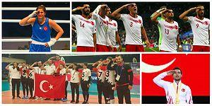 Gururumuzsunuz: Dünyada ve Türkiye'de Spor Müsabakalarına Asker Selamı Damgası!