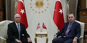 Trump'ın 'A Takımı' Türkiye'de: Erdoğan ile Pence Görüşmesi Gerçekleşti