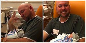 İşitme Engelli Babanın Yeni Doğan Kızına Sevgisini İşaret Diliyle Anlattığı Tatlış Anlar