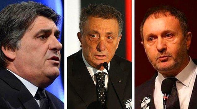 Beşiktaş'ta 20 Ekim'de yapılacak genel kurulda Serdal Adalı, Ahmet Nur Çebi ve Hürser Tekinoktay başkanlık için yarışacak.