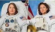 Tarihi Bir An! Dünyanın Sadece Kadınlardan Oluşan İlk  Uzay Yürüyüşü Gerçekleşti