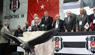 Beşiktaş'ın Yeni Başkanı Ahmet Nur Çebi Oldu: 'Beşiktaş'ın 1 Kuruşu Bize Emanet'