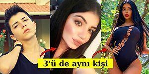 Instagram Fenomeni Transseksüel Kadın Beren Güney'in Yıllar İçindeki Değişimini Görünce Mucizelere İnanacaksınız!