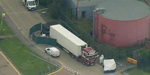 İngiltere'de Bir Kamyonda 39 Kişinin Cesedi Bulundu