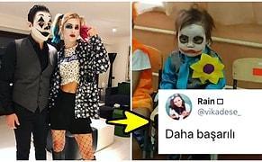 Hacı Sabancı ile Nazlı Kayı'nın Cadılar Bayramı İçin Joker ve Harley Quinn Olması Goygoycuların Diline Fena Düştü!