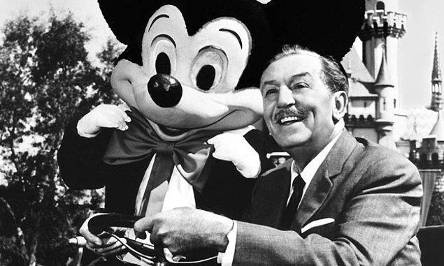 7. Walt Disney'in bedeni kriyojenik olarak dondurulmadı.