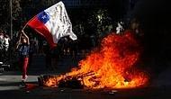 Halk Günlerdir Sokakta: Şili Devlet Başkanı Pinera Protestolar Sonrası 8 Bakanı Görevden Aldı