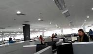 Filipinler'de 6.8 Şiddetinde Deprem Oldu, Panik Kameralara Böyle Yansıdı!