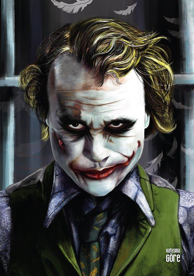 Bu içerikte 2008'de vizyona giren Kara Şövalye filmindeki o çılgın gülümsemeye sahip Joker'dan bahsedeceğiz.