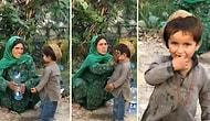 Çocuğunu, Fotoğrafını Çekmek İsteyen Yabancının Objektifi İçin Hazırlayan Anne!