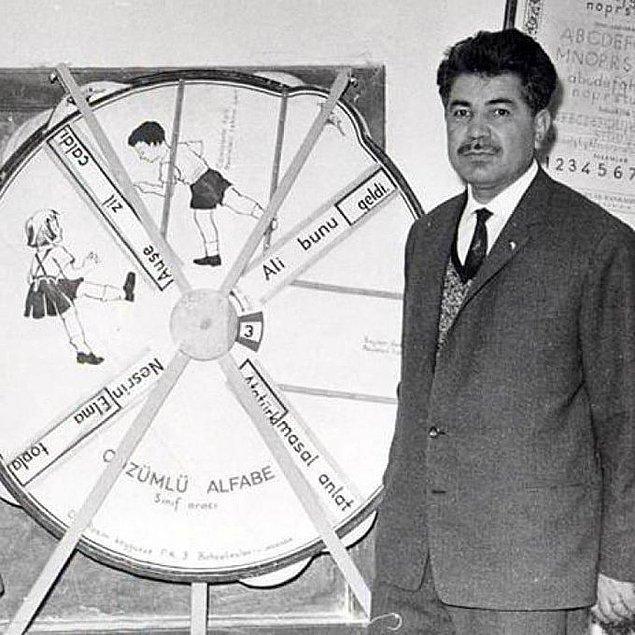 1. Cin Ali kitabının yazarı Rasim Kaygusuz, İstanbul, 1968.