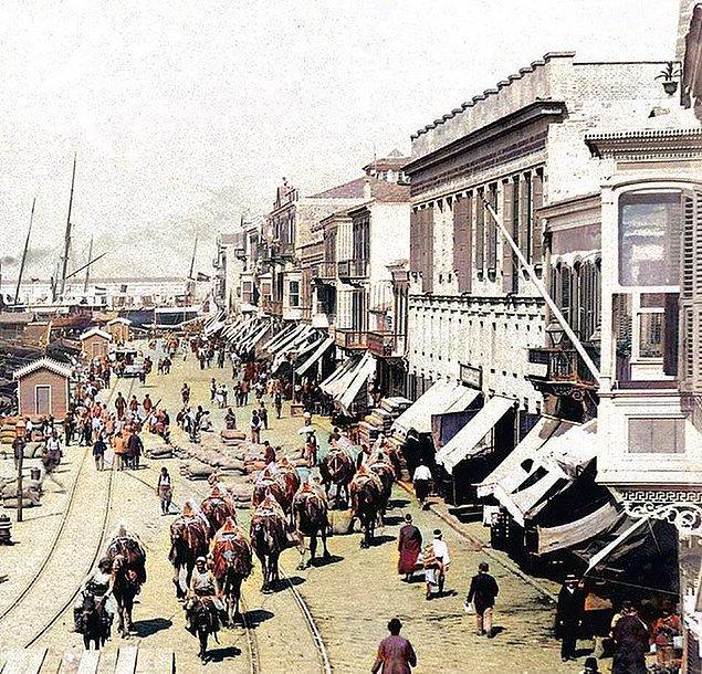 2. Pasaport İskelesi, İzmir, 1920.