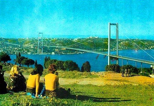 5. Kuzguncuk Nakkaştepe Boğaziçi Köprüsü, İstanbul, 1973.