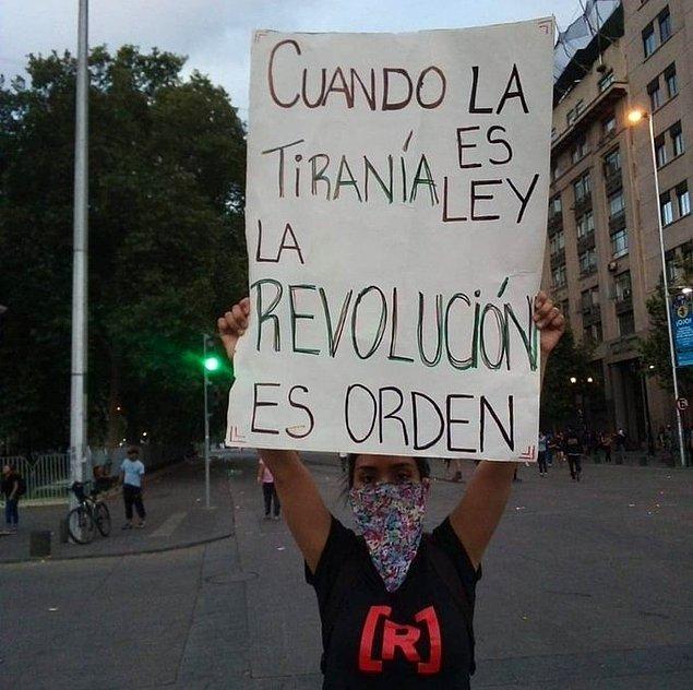 """14. """"Tiranlık yasa olduğunda devrim, düzen koyucu olur."""""""