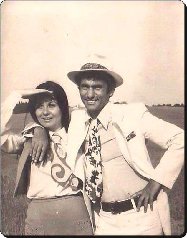 18. Fatma Girik ve Yılmaz Güney, 1971.