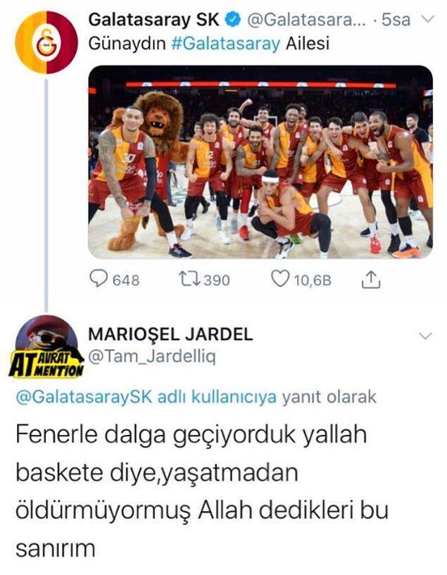 6. Galatasaray ve Fenerbahçe basketbol-futbol takımlarının yer değiştirdiği bir sene oluyor. :)