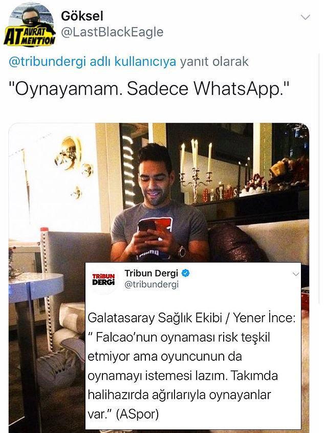 13. Sadece Whatsapp...