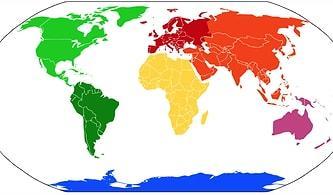 Sen Yeryüzündeki Hangi Kıtaya Aitsin?