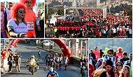 106 Ülkeden 140 Bin Kişi Koştu: Objektiflere Yansıyan Karelerle 41. İstanbul Maratonu